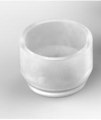 Silicon part for ball attachment