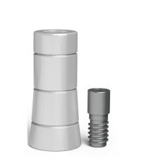 Plastic abutment for Multi unit