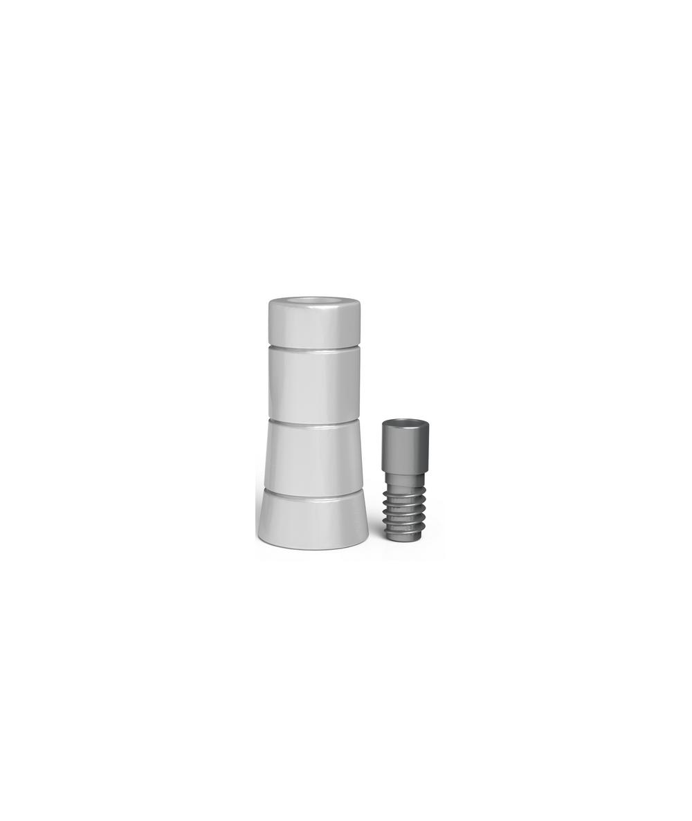 Plastic abutment for Multi unit