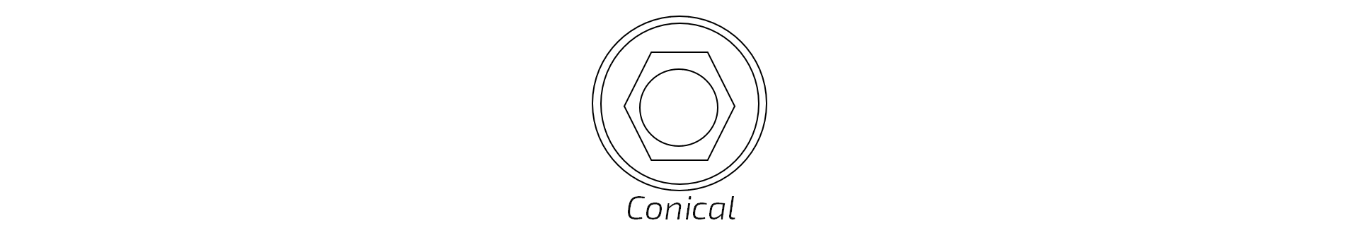 Conical Hex